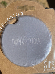 Car Coaster- Drink o'clock
