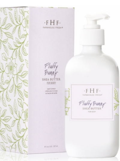 FHF Shea butter 8oz. Hand Cream : Fluffy Bunny