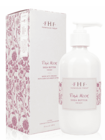 FHF Shea butter 8oz. Hand Cream : Pink Moon