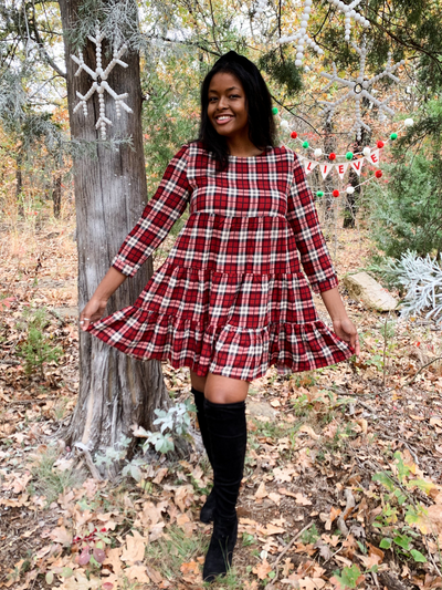 The Heather Plaid Dress