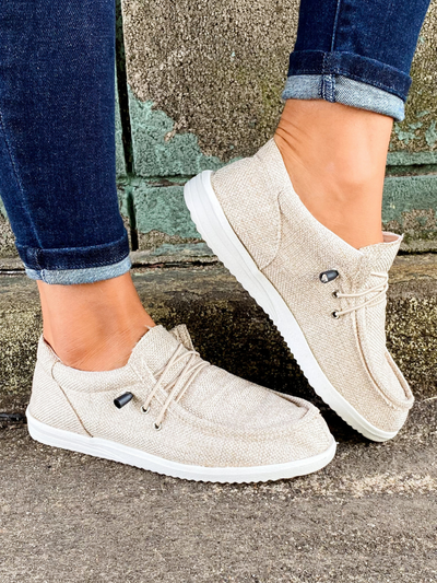 Wala Slip On Shoe - Taupe