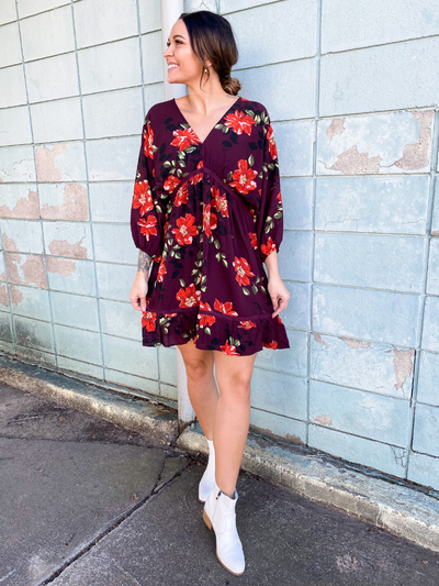 The Peyton Plum Dress