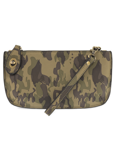 Mini Crossbody & Wristlet-  Olive  Camo