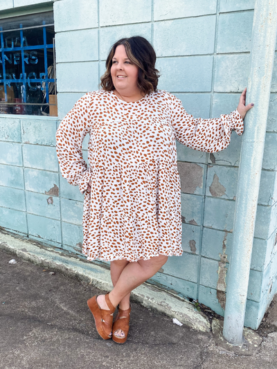 The Ember Dalmatian Dress