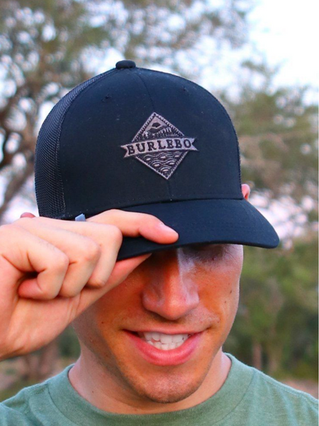 Signature Logo Hat- Black