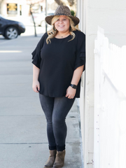 The Marisa Top- Black
