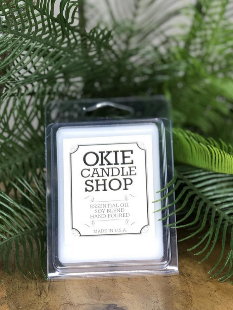 Okie Candle Shop Wax Melts- Leather & Lace