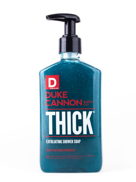 TRIPLETHICK EXFOLIATING SHOWER SOAP- NAVAL SUPREMACY