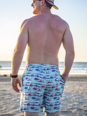 Fish Fin Swim Trunks