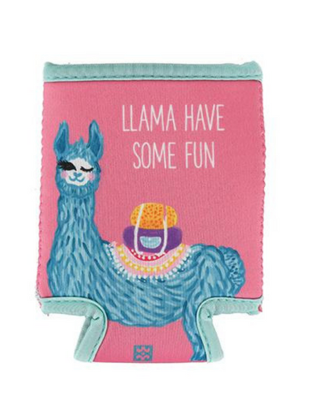 Llama Have Some Fun Koozie