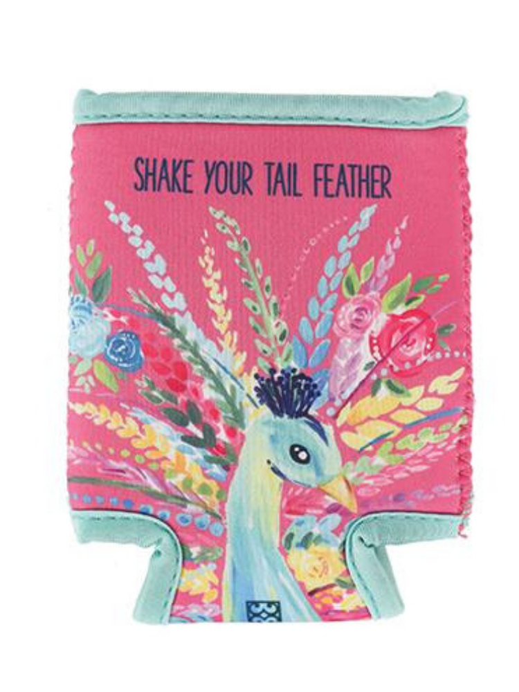 Tail Feather Koozie