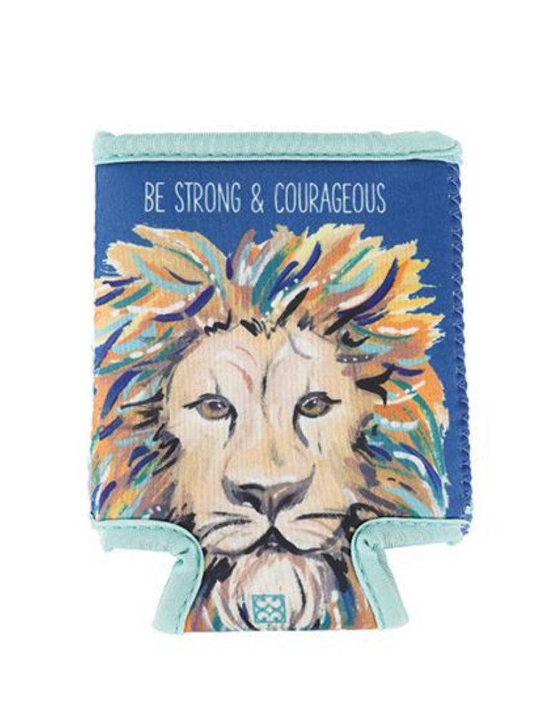 Strong & Courageous Koozie