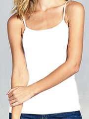 The Basic Cami- White