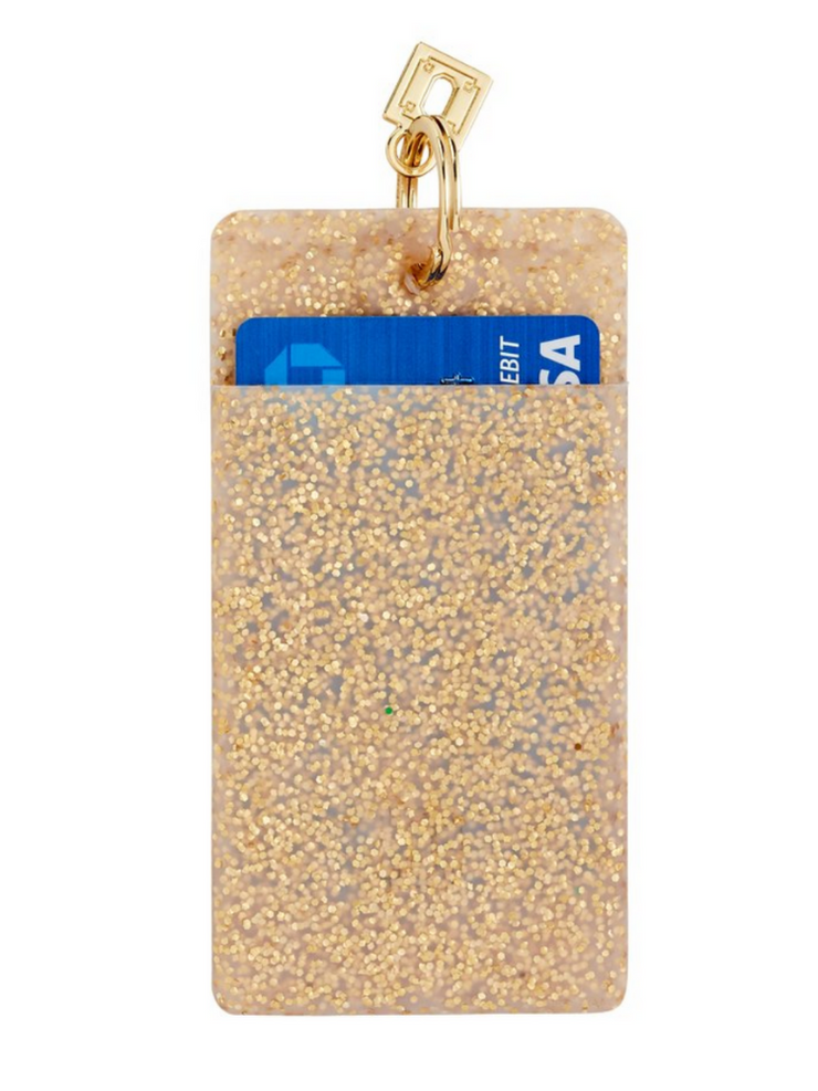 Ossential ID Cases- Gold Confetti
