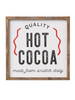 Framed Sign- Hot Cocoa