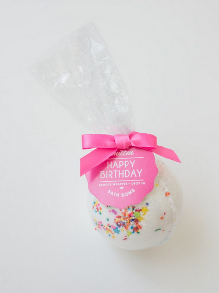 Bath Bomb- Happy Birthday