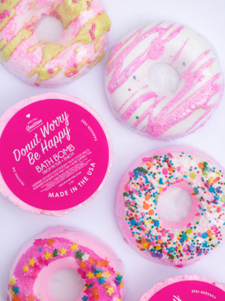 Donut Worry Be Happy Bath Bomb