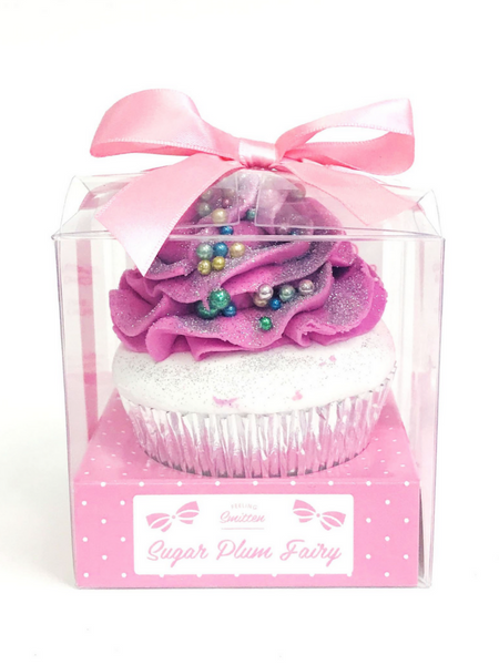 Large Sugar Plum Fairy Cupcake Bath Bomb