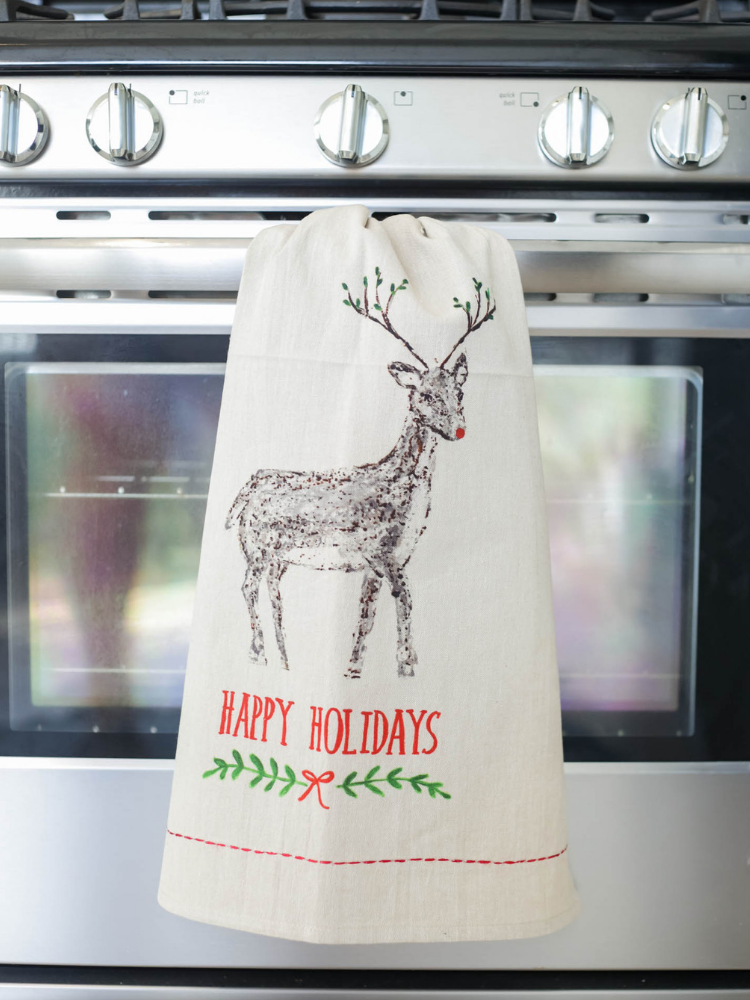 Tea Towel - Happy Holidays