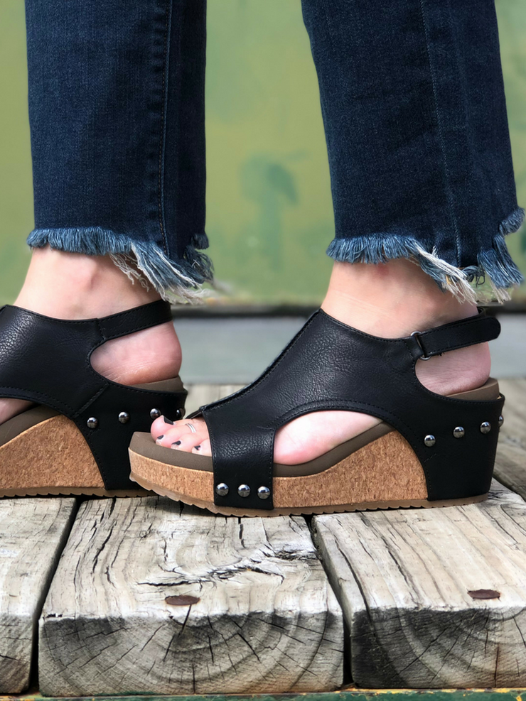 The London Wedge- Black