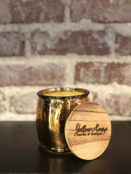 YellowHouse Bronze Mercury Barrel- Compass