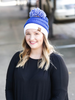 CC Beanie Gameday Collection- Blue / White