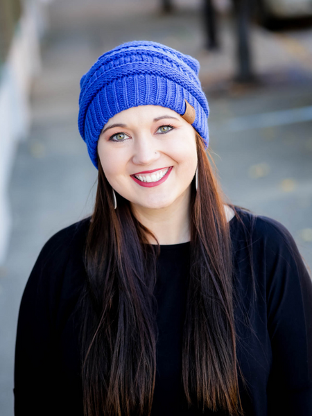CC Beanie - Royal Blue