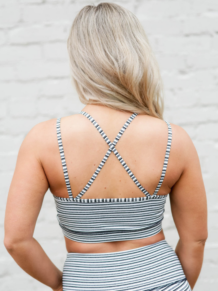Tiramisu Cross-Back Sports Bra