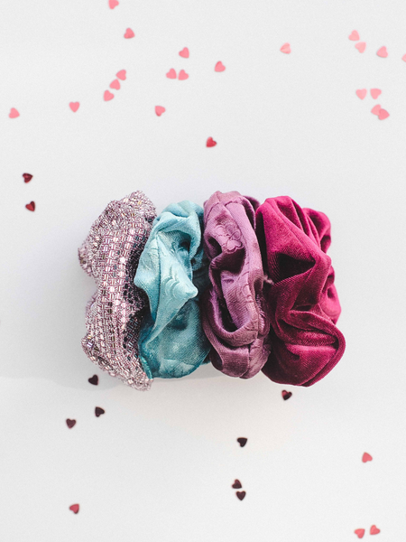 Valentines Day Scrunchies