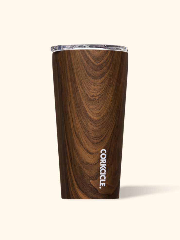 Corkcicle- 16 oz Tumbler Walnut Wood