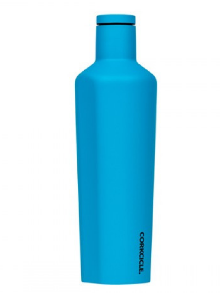 Corkcicle- 16oz Canteen Neon Blue