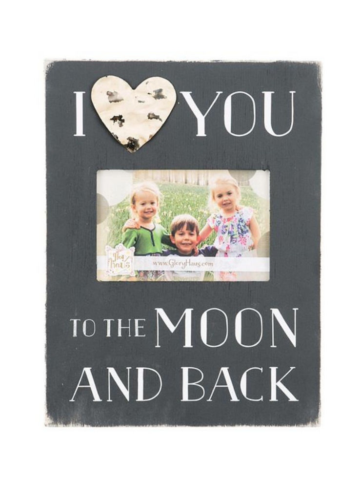 I Love You To The Moon & Back Frame