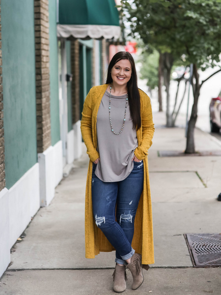 Bettye Sweater in Mustard