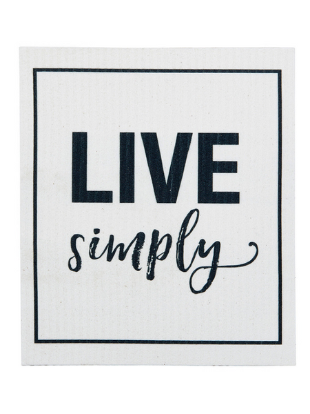 Organic Dishcloth- Live Simply
