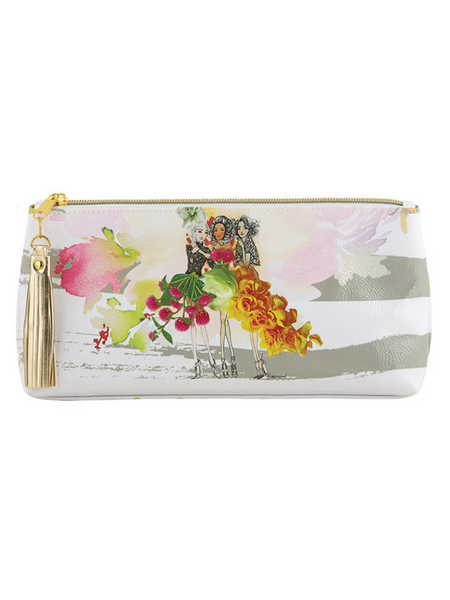Small Oil Cloth Bag- Beautiful