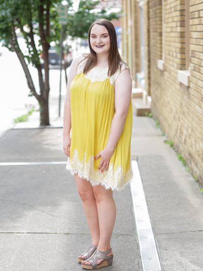 The Willa Jane Dress In Goldenrod