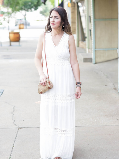Sweeter Than Honey Dress in Ivory
