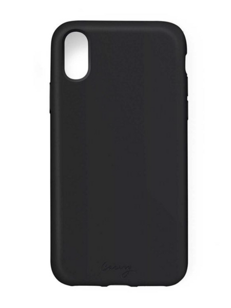 Casery iPhone Case- Silicone Black