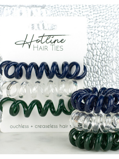 Hotline Hair Ties- Evergreen XL