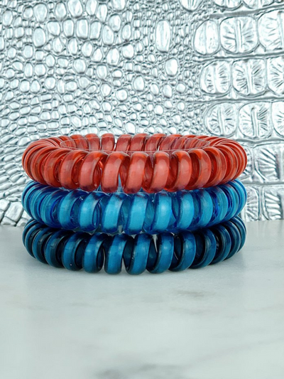 Hotline Hair Ties- High Dive (3 Pack)