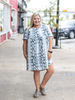 The Audra Snakeskin Dress
