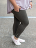 Pocket Yoga Legging- Olive