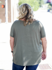 Piko Top Short Sleeve- Olive