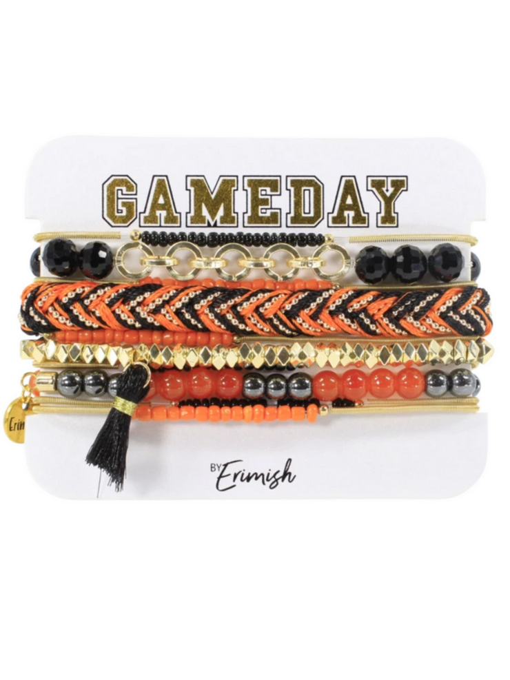 Gameday Mixer Stack in Orange & Black