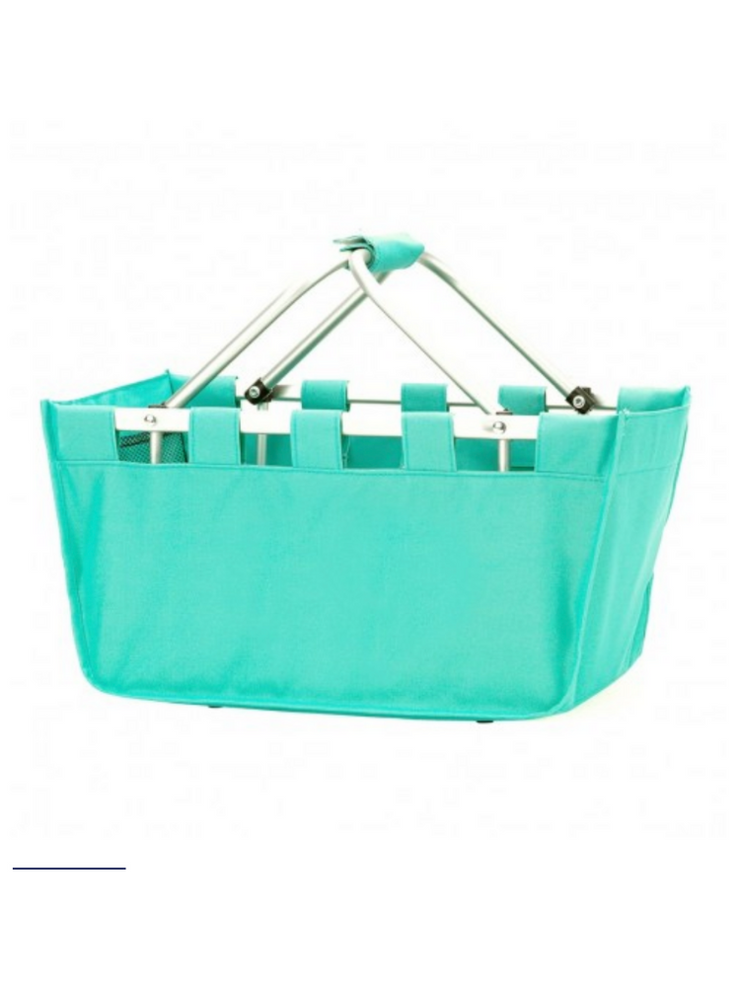 Mini Market Tote- Mint