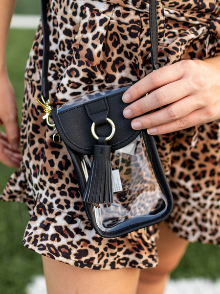 "The ""Clearly Chic"" Cell Phone Crossbody"
