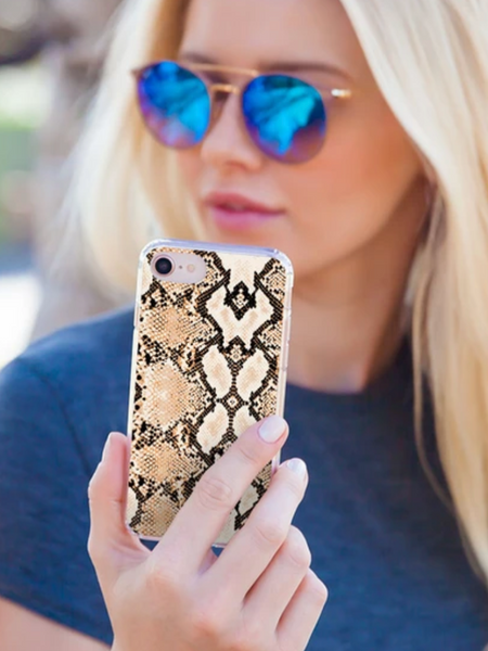 Casery iPhone Case- Snakeskin