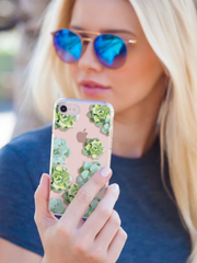 Casery iPhone Case- Succulents