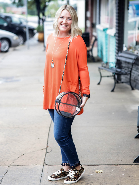 Piko Style Long Sleeve - Orange