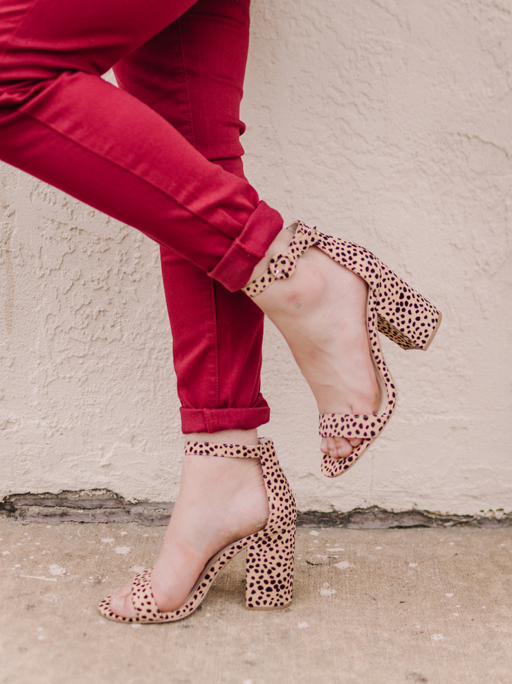 The Huntington Leopard Heel